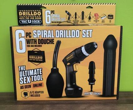Spiral Drilldo 6 Pc Collection