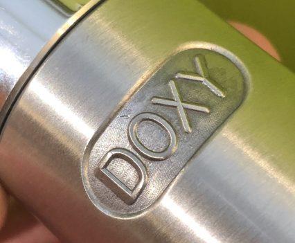 Doxy Number 3 Aluminium Wand Massager